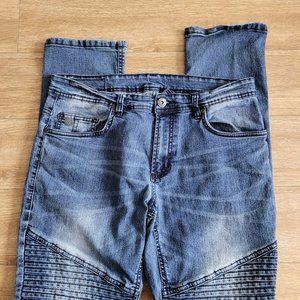 Buffalo David Bitton Moto Jeans